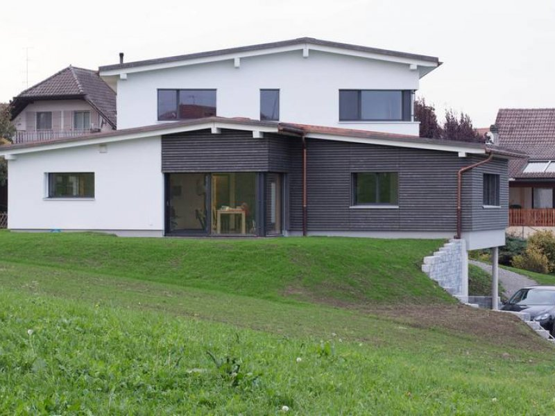 Sallin bard s rl villaz st pierre construction for Villa ossature bois